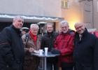 v.l.n.r. Lars Oeverdieck (SPD), Hans-Jürgen Michelmichel, Gernot Zessin, Siegfried Klaßen (beide KUBUS gGmbH) Dr. Fritz Felgentreu MdB (SPD)