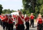 Der Festumzug wurde eröffnet vom Spielmannszug aus Werder/Havel