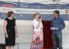 Die feierliche Eröffnung durch BzStRin Dr. Giffey und die Europabeauftragte Frau Simon