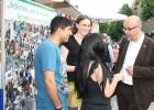 Dr. Fritz Felgentreu mdb im Gespräch mit unseren Schüler/innen