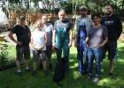 KUBUS Grün Team und Kollegen der GEBEWO