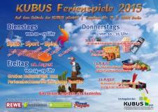 KUBUS-Ferienspiele 2015